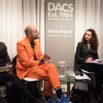 DACS panel discussion #VassilikiTzanakou #GavinTurk #PierreFrancoisDocquir #SachaCraddock