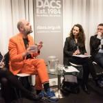 DACS panel discussion #VassilikiTzanakou #GavinTurk #PierreFrancoisDocquir #NicholasSharp #SachaCraddock
